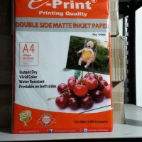 Eprint Photo Paper Double Side Matte Inkjet Paper A4 220gsm