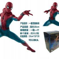 Action Figure Spiderman Statue