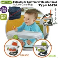 Babyelle Foldable & Easy Carry Booster Seat 63570
