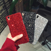 Casing OPPO F7 F5 F5 Youth F1S A37 A83 Bling Case oppo