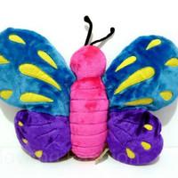 Boneka Kupu Kupu Butterfly Colorful Unique