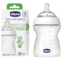 Botol Susu CHICCO Natural Feeling Baby Step Up 4m+ 6m+