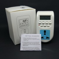 Elektronik Digital Timer Listrik / Stop Kontak Timer Digital