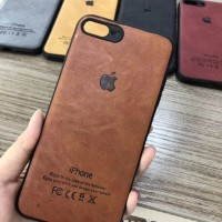 Softcase Leather Iphone 6/6+/7/7+/8/8 Plus/X Casing Jelly Case Kulit