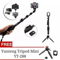 Promo Paket selfie Tongsis Bluetooth Yunteng YT 1288 + tripod YT 228