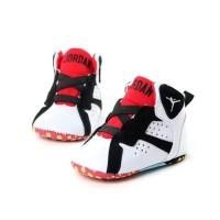 PROMO !!! MANTAB !!! Jordan Red High Prewalker Shoes - Sepatu Bayi -