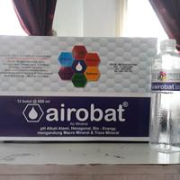 Air mineral alkali airobat @600ml pH alkali alami micromineral