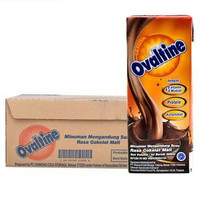 Ovaltine UHT 200ml X24 Choco Malt | Ovomaltine Swiss Viral 200 ml Susu