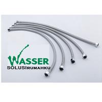 Selang Flexible Hose Anyam WASSER 100 cm Air Dingin/Panas Water Heater