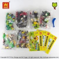 Termurah Berkualitas Mainan Anak Lego Classic Wange Designer 58231