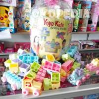 Termurah Berkualitas Mainan Edukasi Block Lego Yoyo 160Pcs / Block
