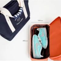 Termurah Berkualitas Korea Iconic Layer Bag / Travel Organizer Tote /