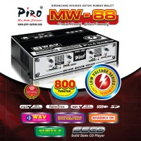 AMPLI WALET PIRO WM-88 WALET 800 TWEETER