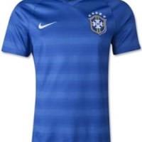 Jersey Bola Man GRADE ORI Brazil away World Cup 2014 LIMITED