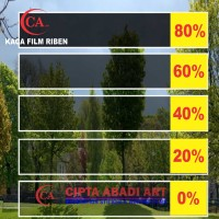 KACA FILM RIBEN/GLASS FILM 80%(TOP QUALITY)