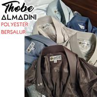 THOBE ALMADINI POLYESTER - Jubah Gamis Pria Haramain Alnoor Al Madini