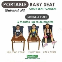 Portable Baby Seat BabyGo Chairseat/Carseat