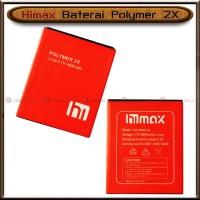 Baterai Himax Polymer 2X 2 X Double Power Batre Batrai HP