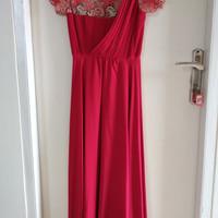 Red premium dress