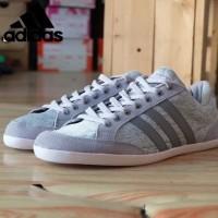 Sepatu Keren Murah Casual Sneakers Original Adidas caflaire grey new