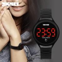 Jam Tangan Layar Sentuh SKMEI Touch Hitam 1230 Original Murah Impor