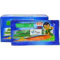 Komix Kid OBH (Rasa Madu) Dus Isi 10 Sachet - Sirup Obat Batuk Anak