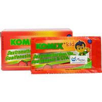 Komix Kid (Rasa Strawberry) Dus Isi 10 Sachet - Sirup Obat Batuk Anak