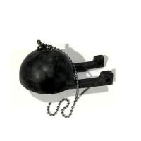 TOTO TH418 Rubber Flapper & Chain - Karet & Rantai diameter 7cm