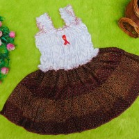 TERLARIS dress baju bayi perempuan cewek 0-12bulan super cute batik-5