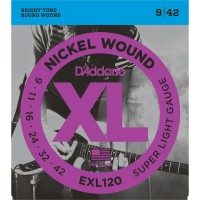 Senar Gitar Listrik Daddario EXL120 9-42 Electric Guitar Strings