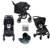 stroller baby JOIE MUZE TS + CAR SEAT W/BASE