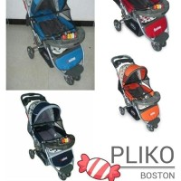 Stroller Pliko Boston Kereta Bayi Boston