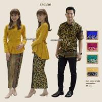 Batik couple,sarimbitan,keluarga,resmi,muslim SRG 580