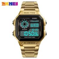 Skmei 1335 Men's Waterproof Square Digital Chronograph Watch