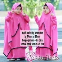 Pakaian Muslim Koleksi Terbaru TAHLIA BERGO KIDS / BAJU FASHION ANAK M