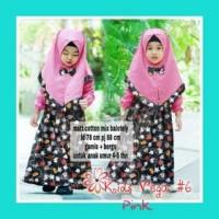Pakaian Muslim Koleksi Terbaru VEGA KIDS MOTIF MICKEY / BAJU FASHION A