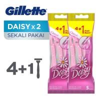 Gillette Pisau Cukur Wanita Daisy Classic Isi 5 Paket Isi 2