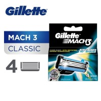 Gillette Isi Ulang Mach 3 Isi 4