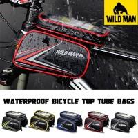 Tas Kabin HP Sepeda - Frame Top Tube - Wildman HT6