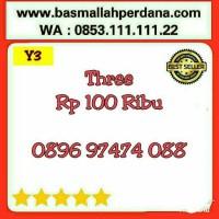 Nomor Cantik Three 11 Digit ABAB 7474 0896 9 74 74 088 rapih Y7 977