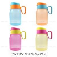 GROSIR Botol Minum 350 ml - Souvenir Ulang Tahun Anak - Cool Flip Top