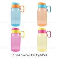 GROSIR Botol Minum 500 ml - Souvenir Ulang Tahun Anak - Cool Flip Top