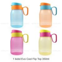 Botol Minum 350 ml - Botol Minum Anak - Souvenir Ultah - Cool Flip Top