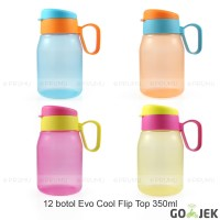 GOJEK Botol Minum 350 ml - Souvenir Ulang Tahun Anak - Cool Flip Top