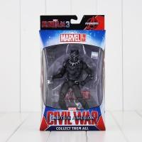 Marvel Black Panther Action Figure 1:12 +-16cm Avengers civil war