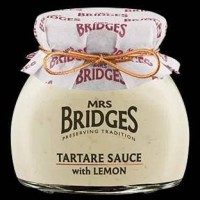 Mrs Bridges Tartare Sauce with Lemon Saus Tartar Seafood Import Repack