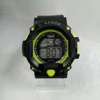 jam tangan QQ QnQ Q&Q anak dewasa digital sport model gshock anti air