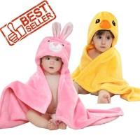 Selimut topi bayi karakter / selimut halus bayi carter