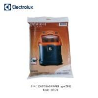 DUST BAG PAPER Z931 5 IN 1 VACUUM CLEANER ELECTROLUX TYPE Z931 DP.70
