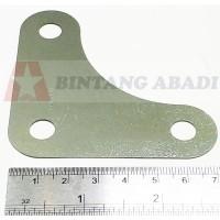 Corner Plat Sudut 70 mm u/ Besi Siku Lubang 4 x 4 cm (Rak Siku Bolong)